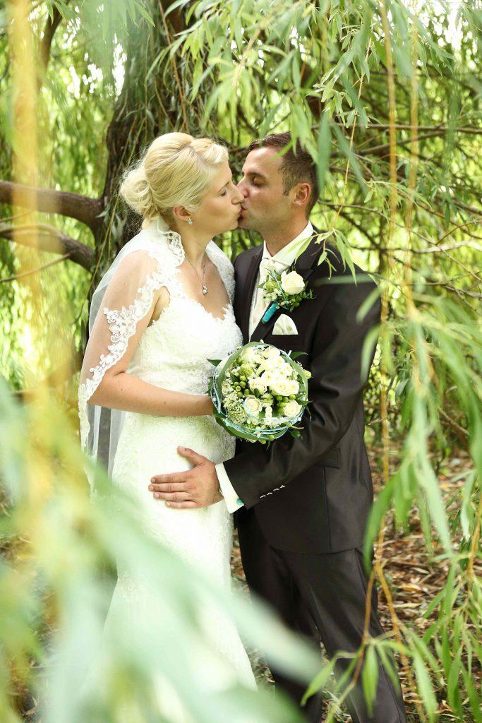 Brautpaarfoto - farbig