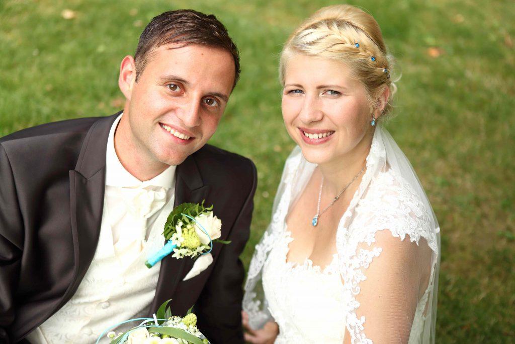 Brautpaarfoto - Nahaufnahme