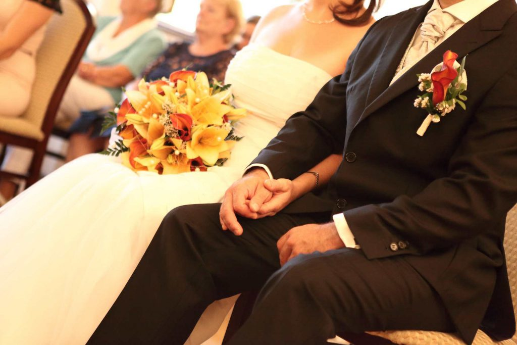 Hochzeit in Delitzsch - Hände