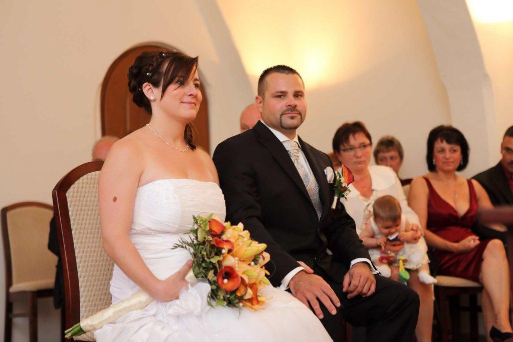 Hochzeit in Delitzsch - im Standesamt