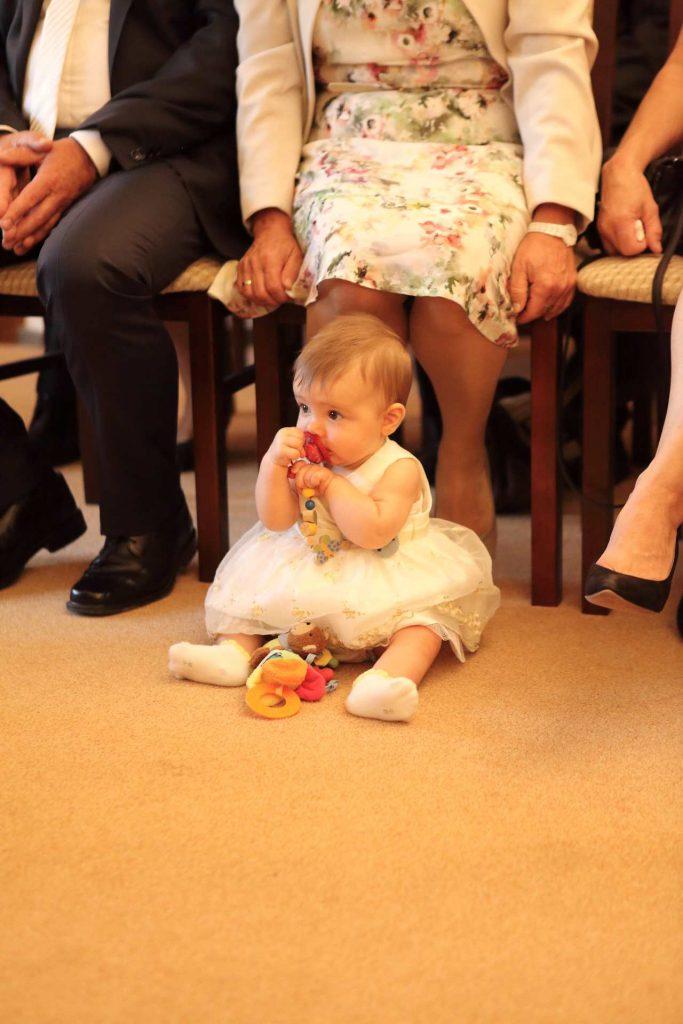 Hochzeit in Delitzsch - Baby