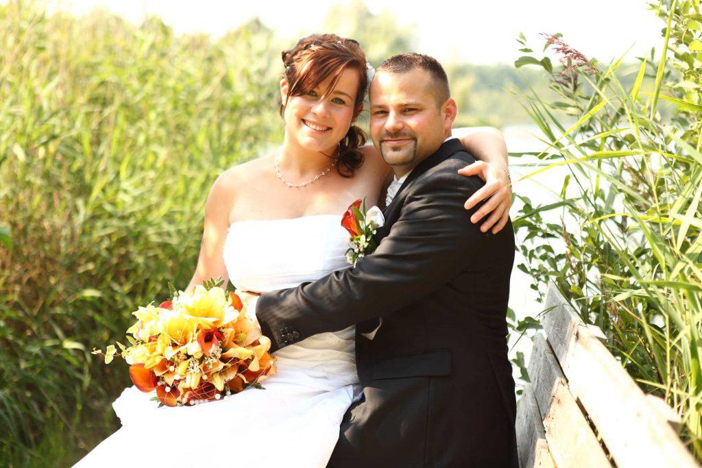 Hochzeit in Delitzsch - Brautpaarfoto
