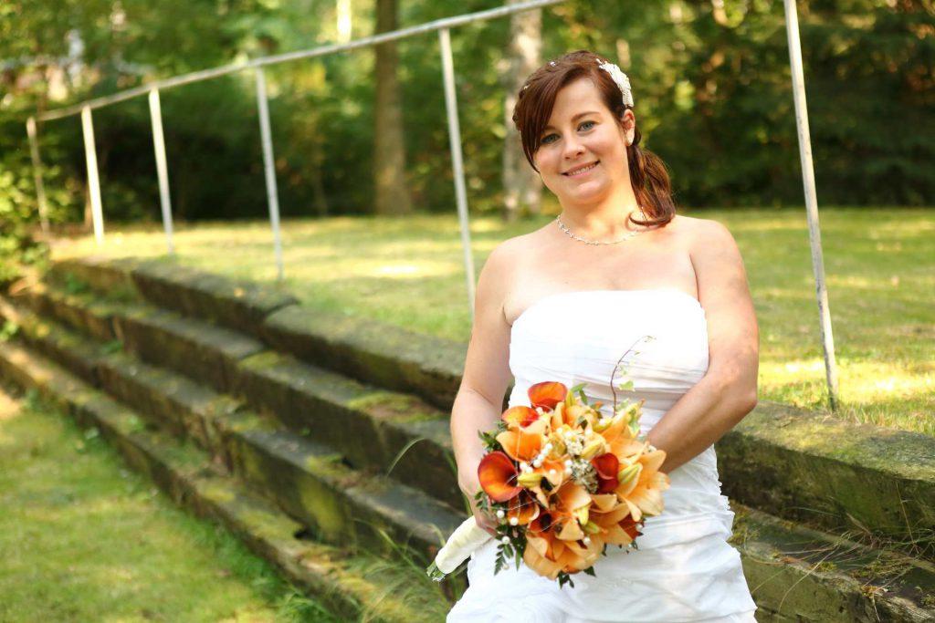 Hochzeit in Delitzsch - die Braut