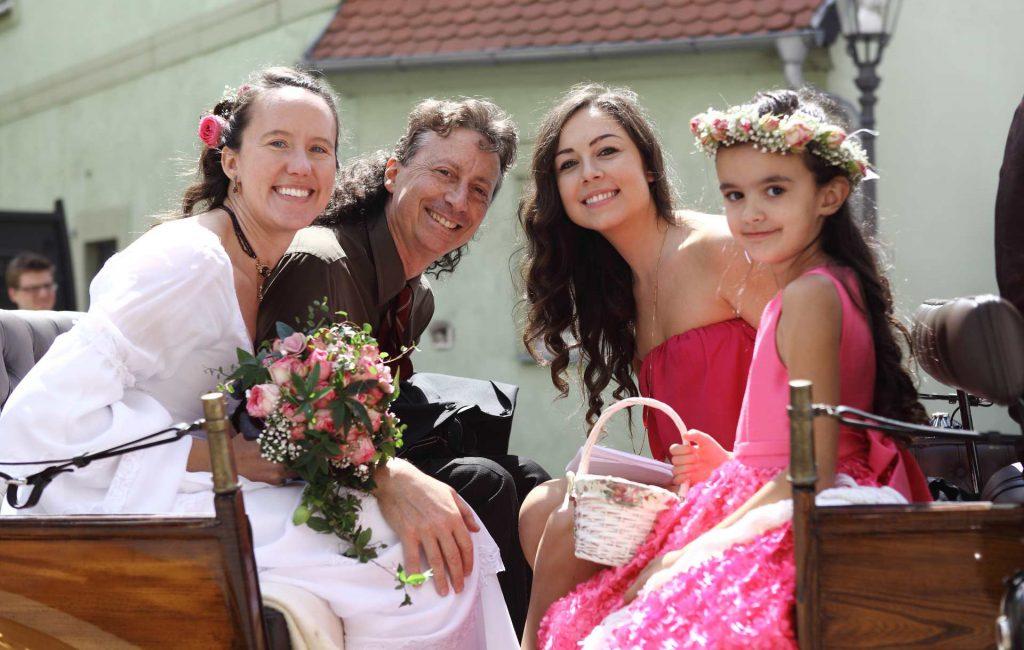 Hochzeit in der Delitzscher Stadtkirche und auf Goitzsche