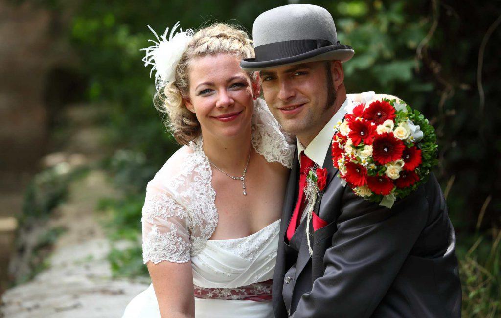 Stilechte Biker-Hochzeit in Bad Dürrenberg