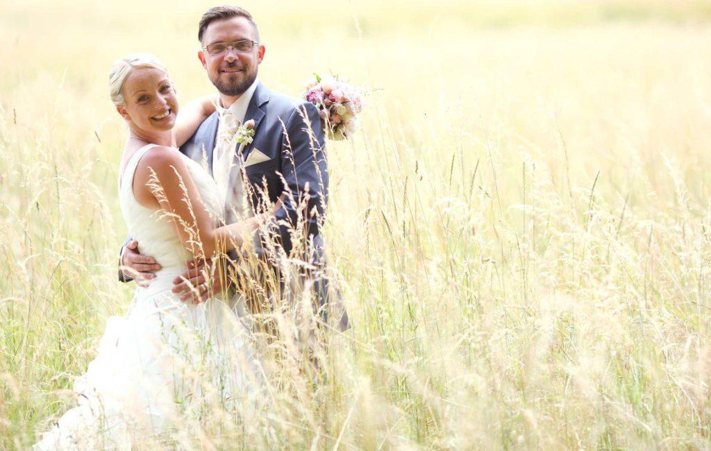 Romantische Hochzeit im Rosenpavillon Zwenkau