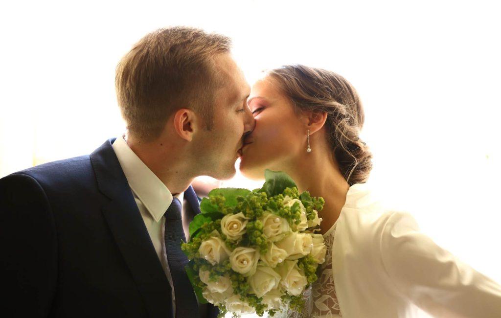 Hochzeitsfotos in Leipzig im Gohliser Schlösschen